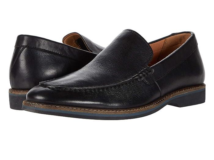 Clarks  Atticus Edge (Black Leather) Mens Shoes