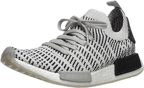 Adidas Originals Hommes's NMD_R1 STLT PK FonctionneHommest chaussures, Two gris one noir, 10 M US