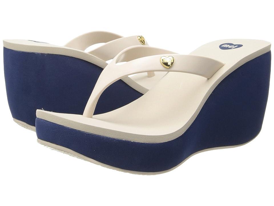 Melissa Shoes Mel Lipstick (Beige Blue) Women