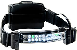 """FoxFury 420-006 Command 20 LED Firefighter Helmet Light with 1"""" Silicone Strap, 72 Lumens"""