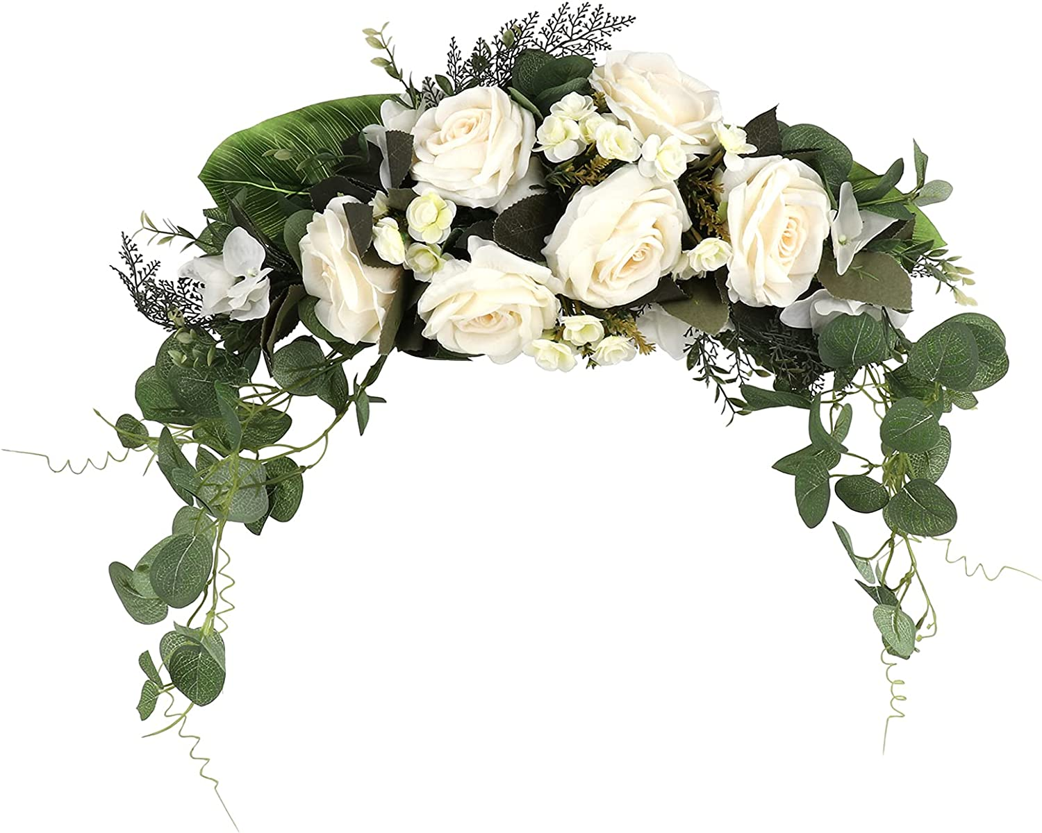 WDDH Floral Swag High quality new Artificial Flowers Wreath Latest item Peony Rose Deco