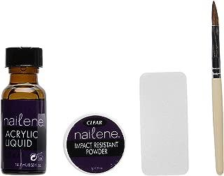 Nailene Acrylic Fill Kit, Clear Transparent