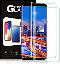 TDNH Galaxy S9 Tempered Glass Screen Protector [2 Pack], Full Coverage HD Tempered Glass Anti-Scratch Bubble-Free Screen Protector for Samsung Galaxy S9