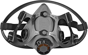 North Safety 550030L 5500 Series Low Maintenance Half Mask Respirator, 1 each, Cartridge Not Included