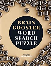Brain Booster Word Search Puzzle Book for Seniors Volume 5: Large Puzzle Book with 100 Word Search Puzzles for Adults and ...