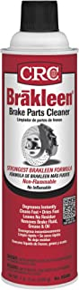 CRC 05089 BRAKLEEN Brake Parts Cleaner – Non-Flammable -19 Wt Oz
