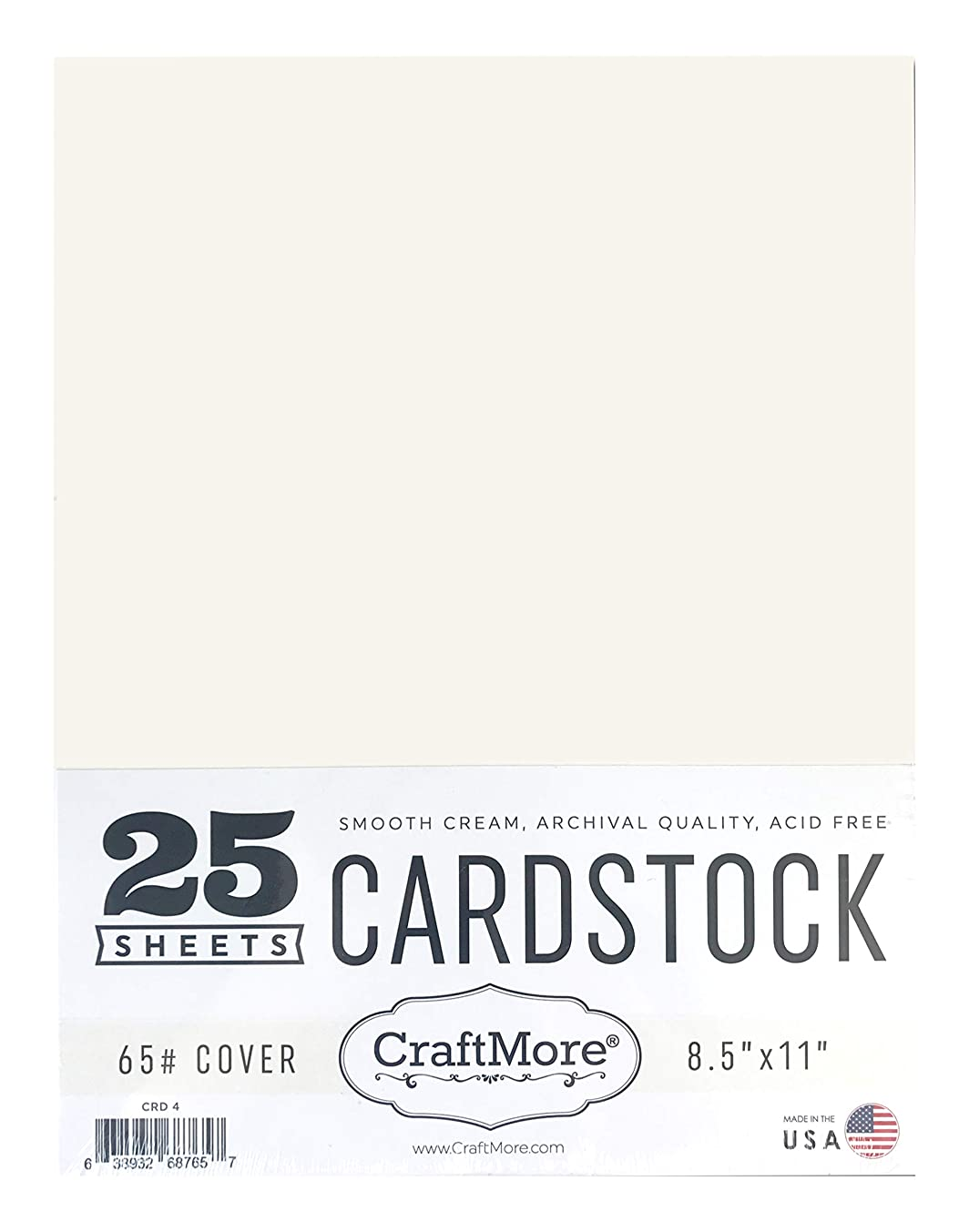 CraftMore Cardstock Paper Value Pack, 8.5