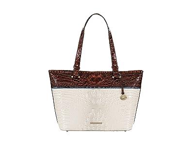 Brahmin Montgomery Medium Asher Tote (Daydream) Handbags