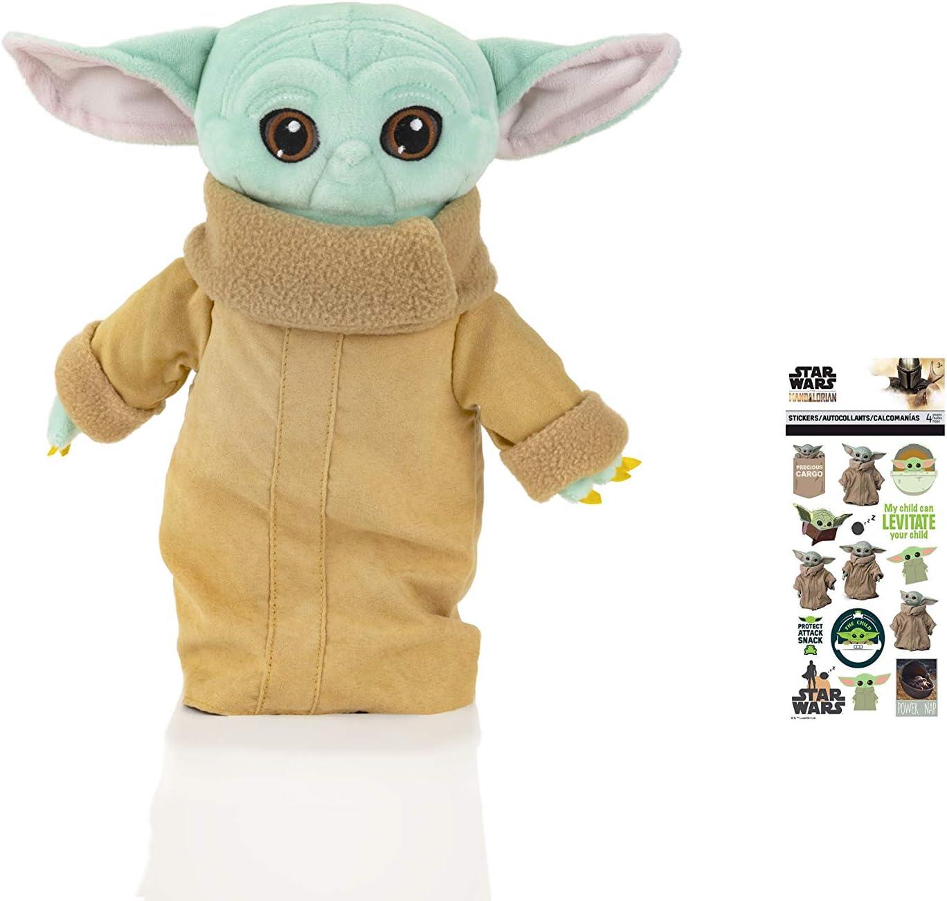 Dom-Dom Best Baby Yoda Plush latest Toy Tall - Inches Arlington Mall Yo Figure 12