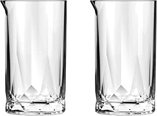 Ocean Connexion Mixing Glasses, Pack of 2, Clear, 625 ml, P02810, Glass, Serves 2