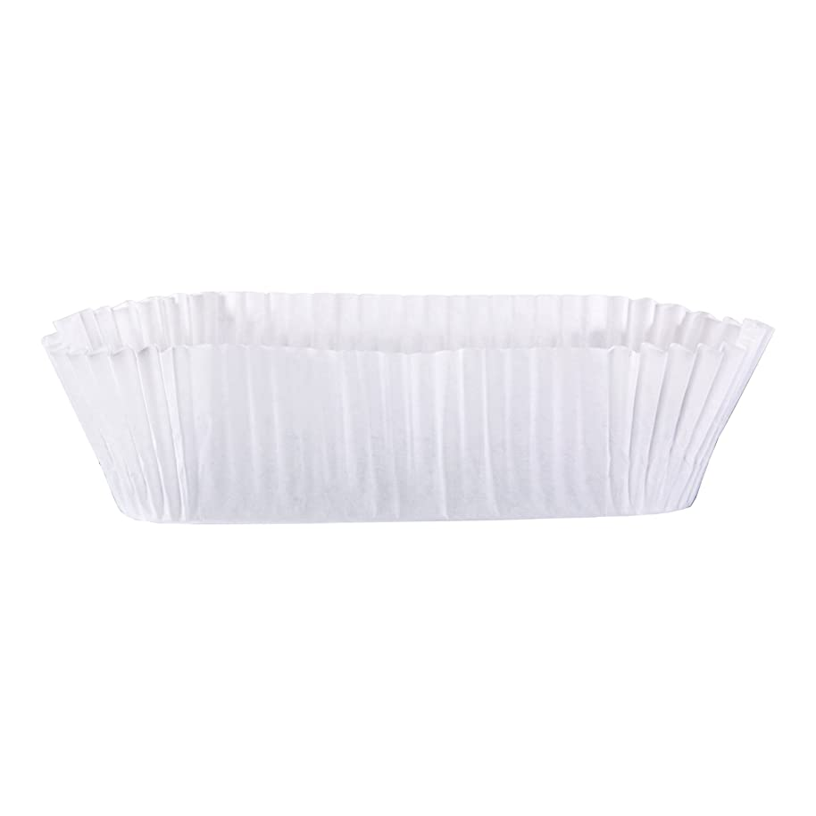 Hoffmaster 610512 Fluted Loaf Liner, Base 6-1/4