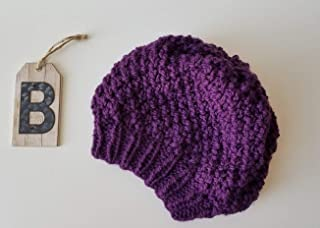 72219d280fef7 Amazon.com  Purple - Hats   Caps   Accessories  Handmade Products