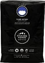 Kicking Horse Coffee, Three Sisters, Medium Roast, Whole Bean, 2.2 Pound - Certified Organic, Fairtrade, Kosher Coffee
