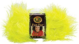 Best lion brand yarn fun fur in lime green Reviews