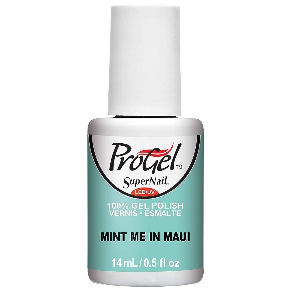 コーンウォールピストルヘビーSuperNail ProGel Gel Polish - Mint Me in Maui - 0.5oz / 14ml