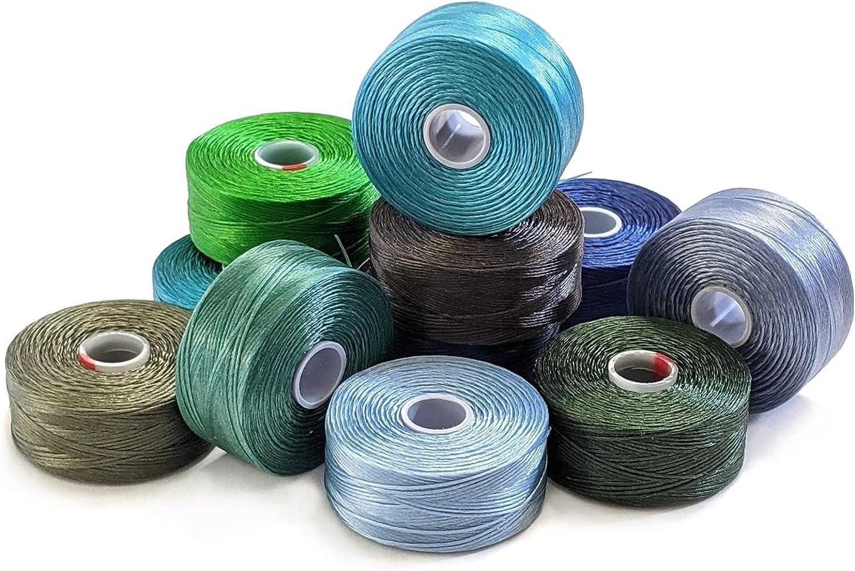 C-Lon Beading Nylon Cord Thread Size Mix - Waterf Multipack 2 D Las service Vegas Mall