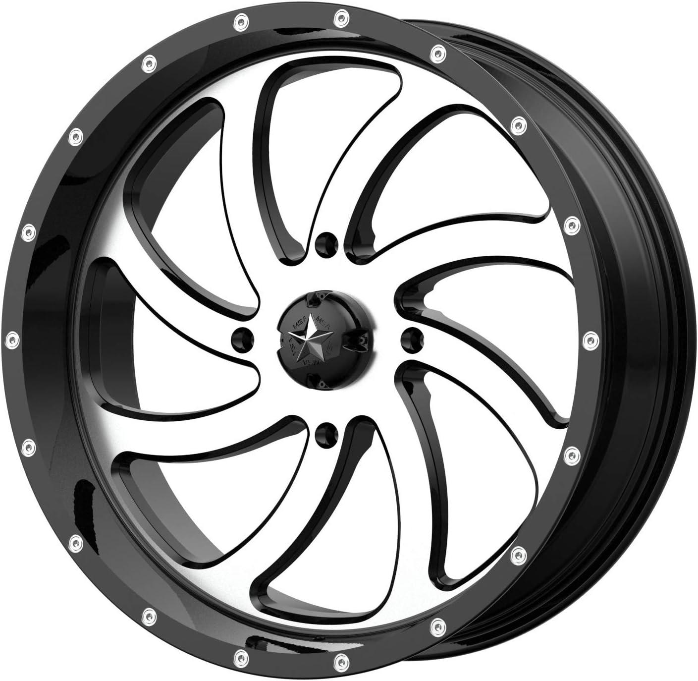 MSA M36 Switch 18x7 ATV UTV Wheel M36-0 Machined Max 67% OFF Beauty products +0mm 156 4 -