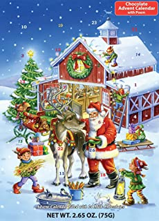 Ready Reindeer Chocolate Advent Calendar