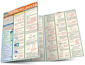Geometry Part 2 (Quickstudy Reference Guides - Academic)