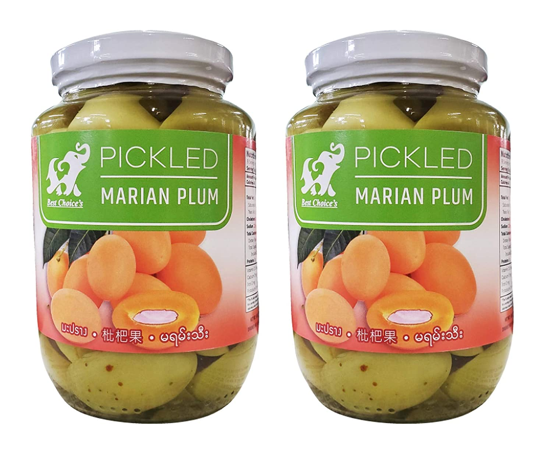 Thai Maprang Pickled Marian SALENEW very popular! Plums Jars Houston Mall 16oz Mango - 2