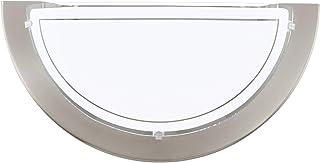 Eglo PLANET 1 Apto para uso en interior E27 60W Níquel iluminación de pared - Lámpara (1 bombilla(s), 60 W, E27, IP20, Níquel)