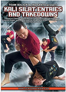 Century Martial Arts Kali Silat Entries and Takedowns DVD