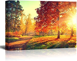 Best fall canvas prints Reviews