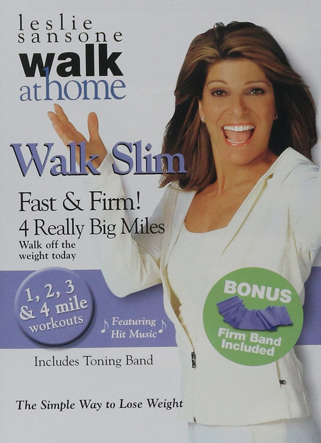 Leslie Sansone Walk Slim: Fast and Firm Big 4 Lowest Large-scale sale price challenge Miles Really