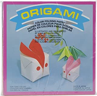 Aitoh Origami Paper, 5.875 by 5.875-Inch, Solid Colors, 300-Pack