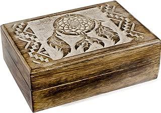 Kheops International Mango Wood Box - Dreamcatcher
