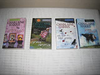 Books 1-4 in the Charlaine Harris Harper Connelly Mysteries Quartet (Set Includes: Grave Sight, Grave Surprise, An Ice Cold Grave and Grave Secret)