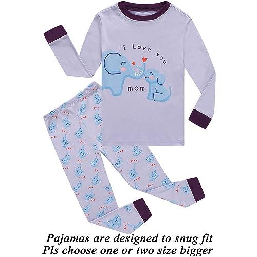 b847813f18138 Little Pajamas Long Sleeve Girls Pjs Toddler Sleepwear Kids Easter Gift  Clothes Sets