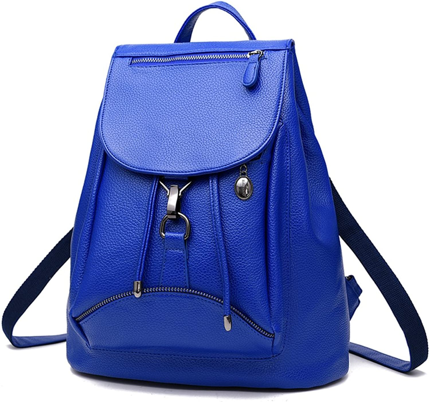 Korean women bag student backpack women's simple small Pack College style backpack-A