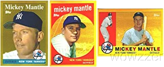 mickey mantle topps chrome