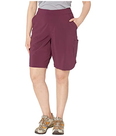 Columbia Plus Size Place To Placetm Long Shorts (Deep Madeira) Women