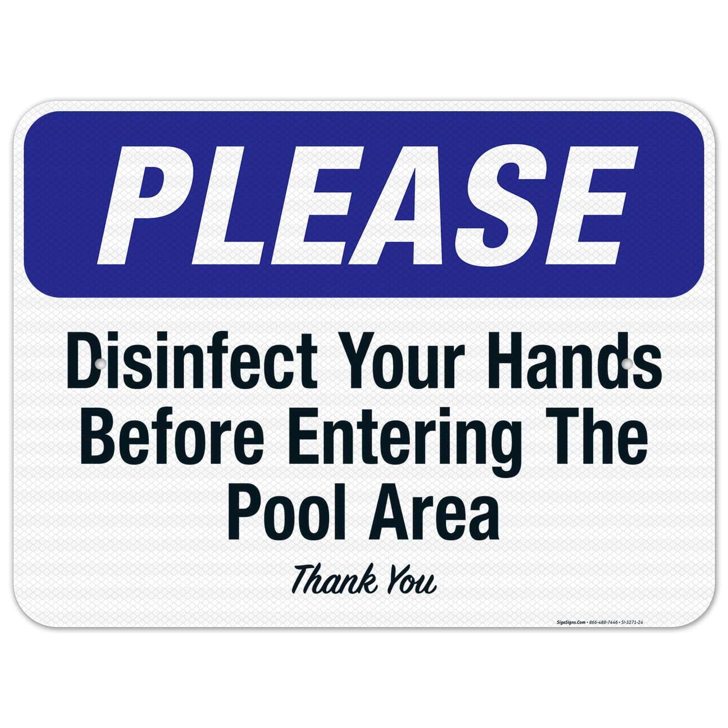 Award-winning store Social Distancing Sign Disinfect Ranking TOP17 Your The Entering Hands Before
