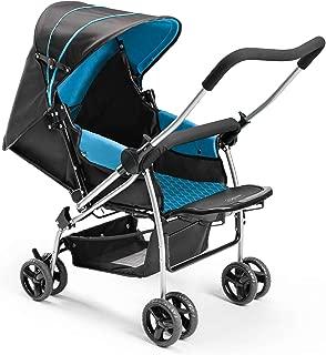Carrinho de Bebê Berço Flip Baby, Multikids, Azul
