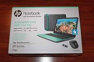 HP 15-ba052wm 15.6 Laptop, Touchscreen, Windows 10 Home, AMD A10-9600P Quad-Core APU Processor, 8GB RAM, 1TB Hard Drive, Teal, B