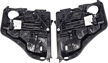 Set of 2 Rear Driver and Passenger Side Power Window Motor and Regulator Assembly for Dodge Nitro 2007-2011