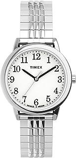 ساعة بسوار قابل للتمديد بمقاس مناسب 30 ملم سهلة القراءة للنساء من تايمكس