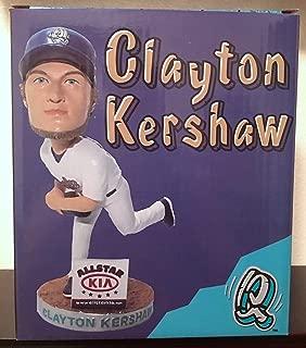 Clayton Kershaw 2017 Rancho Quakes Dodgers Star Pitcher Stadium Promo Bobblehead SGA