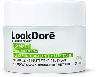 Lookdoré IB+Matt Crema Matificante- Crema Hidratante Piel Grasa - Elimina Brillos y Acné - 50ml