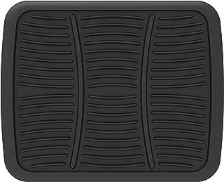 RoadWear 605-14 Black Automotive All Weather Rubber Rear Floor Mat: Universal Fit