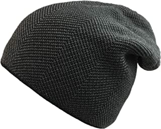 WAZAIGUR Warm Beanie Hat Lining with Soft Plush Slouchy Thick Knitted Skull Cap for Men and Women