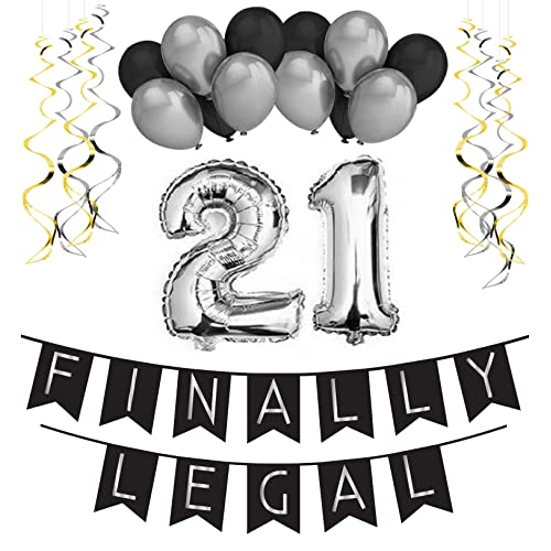 21st Birthday Party Supplies Amazon Com
