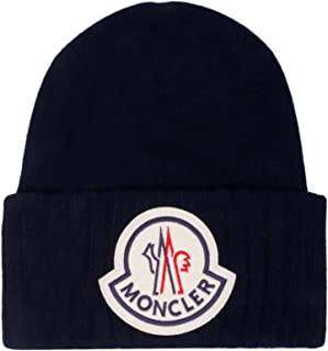 MONCLER Luxury Fashion Mens 9926200A9186778 Blue Hat | Fall Winter 19