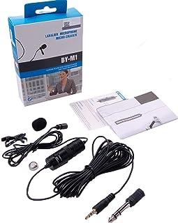میکروفون لپ تاپ Boya BY-M1 Lavalier میکروفون ، میکروفن کنسانتره الکترونیک Omnidirectional ، جک TRRS 3.5mm ، کابل 6.7 متری EXTREME-LONG ، برای تلفن های هوشمند ، DSLR ، دوربین فیلمبرداری