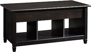 Sauder Edge Water Lift Top Coffee Table, Estate Black finish