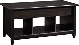 black coffee table with lift top
