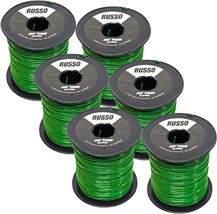 Amazon.com: 6 Pack 095 Round 5lb Commercial String Trimmer ...
